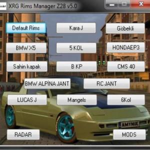 Lfs Xrg Z28 V5.0 versiyon jant yaması
