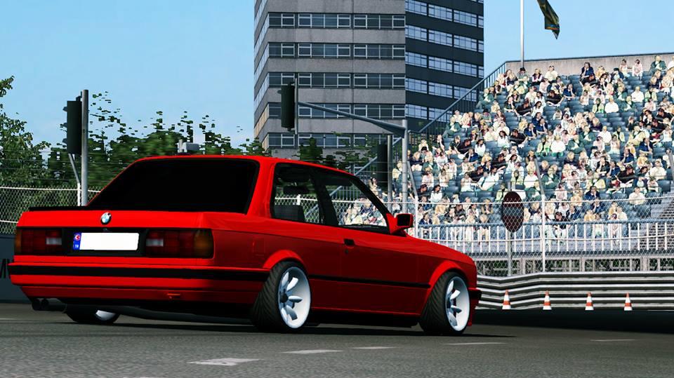 BMWE30325i Araç + Jant + Tweak