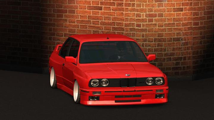 lfs kırmızı bmw m3 e30 araba yaması | online hile