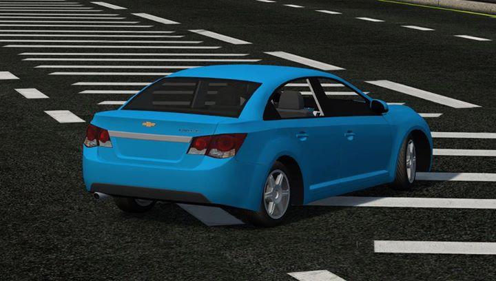 CRUZE Lfs Chevrolet CRUZE 6 kollu jantlı mavi renkli yaması