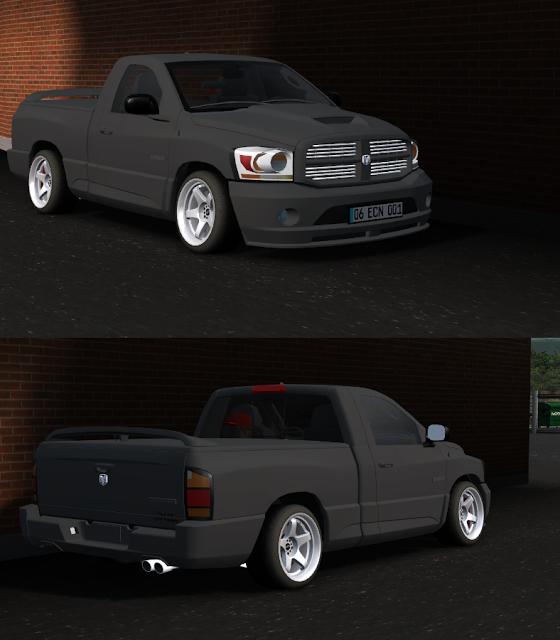 Dodge Jip Lfs Dodge pickup gri yaması