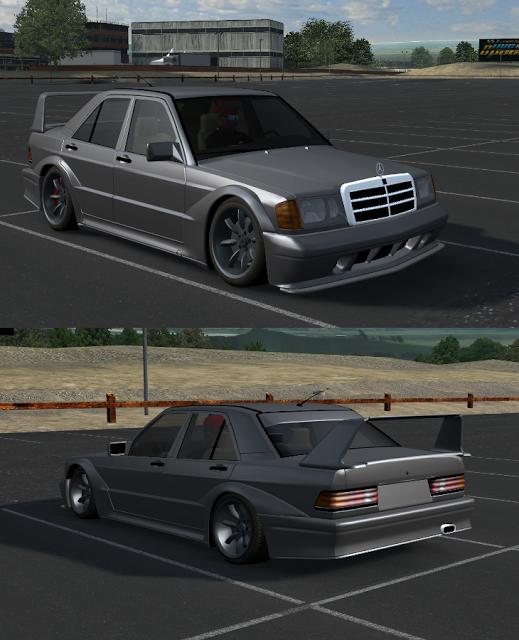 Mercedes190 Driftlowe_ (1) Lfs  Mercedes 190 Driftlowe yapım yaması