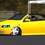 opel cabrrio Lfs dds siz sarı opel cabrio yaması