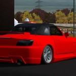 s2bin hoca Lfs Honda S2000 nar kırmızısı dd siz hoca yapım