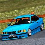 b Lfs Bmw E36 araba+rota grid çubuklu jant+skins+tweak 3