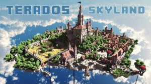 Terados SkyLand Haritası Map For Minecraft Terados-SkyLand-Map