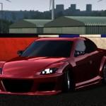 Lfs MazdaRX8 dds siz ve tweak yaması MazdaRX8