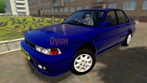 Mitsubishi Lancer Evolution VI GSR 1999 Model Modifiyeli Araba Yaması mitsubishi-1