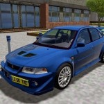 Mitsubishi Lancer Evolution VI GSR 1999 Model Modifiyeli Araba Yaması mitsubishi-lancer-500x330