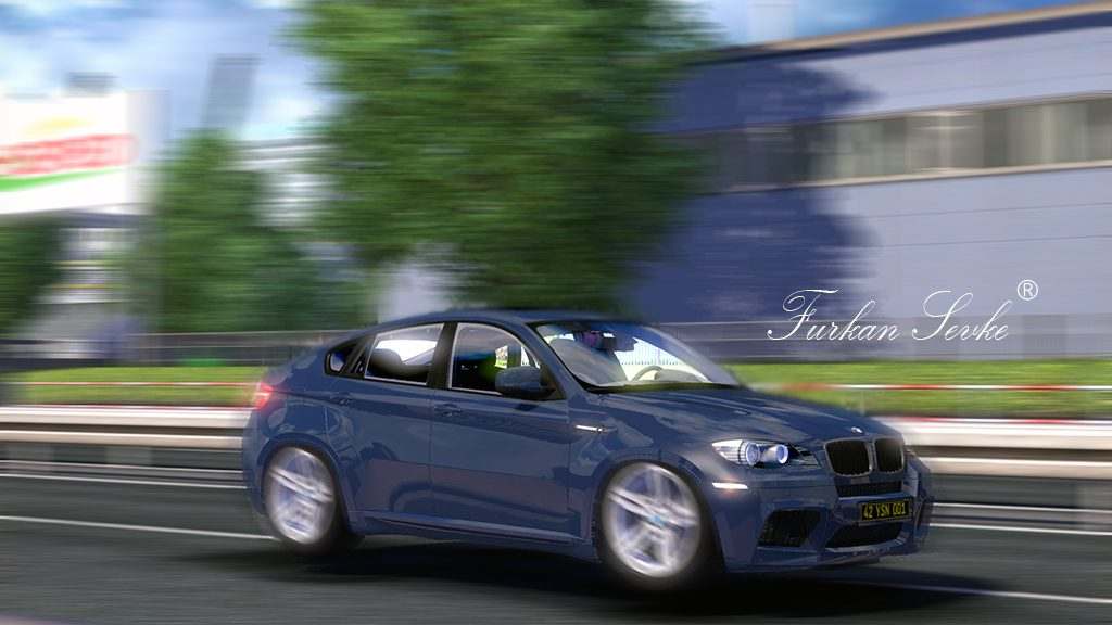 ETS 2 Mod – BMW X6 – Sürülebilir Araç + Yolcu Modu | Online Hile